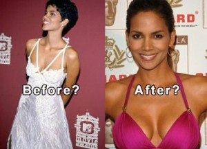 Halle Berry Plastic Surgery Breast Implants